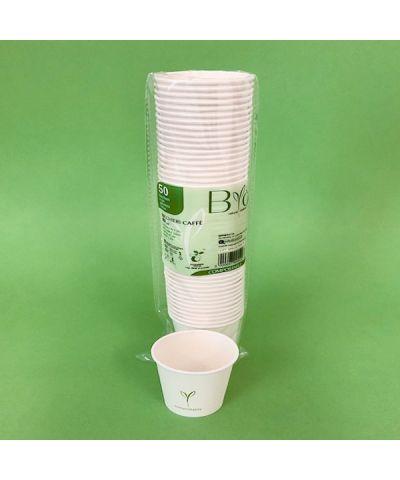 BICCHIERE 80 cc CAFFE' CART.+PLA x 50 PZ. - ART.501301