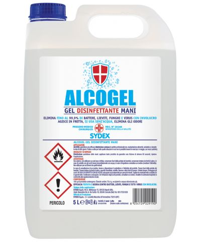 DISINFETTANTE GEL MANI ALCOGEL KG.5 - P.M.C. 20268